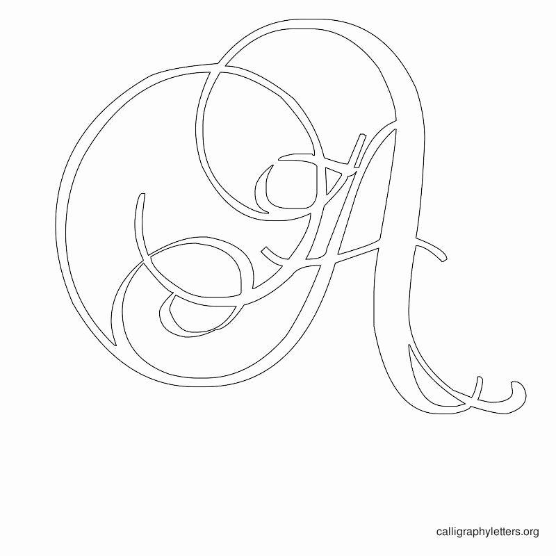 Free Printable Alphabet Stencils New Letter Stencils