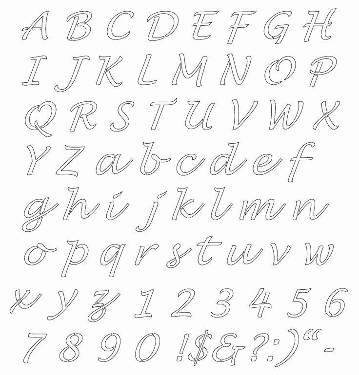 Free Printable Alphabet Stencils Templates Elegant 25 Best Ideas About Alphabet Stencils On Pinterest