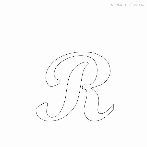 Free Printable Alphabet Stencils Templates Fresh Alphabet Stencils On Pinterest