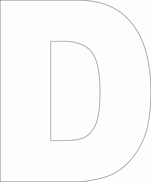 Free Printable Alphabet Stencils Templates Fresh Free Printable Upper Case Alphabet Template