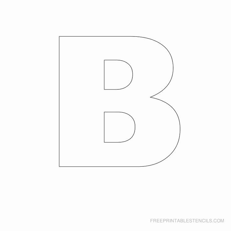 Free Printable Alphabet Stencils Templates Inspirational Stencils Letters Free Printable