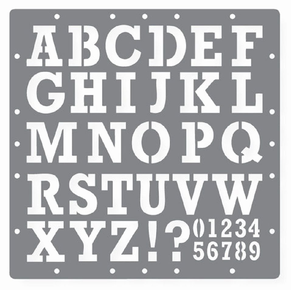 Free Printable Alphabet Stencils Templates Lovely Free Printable Letters and Numbers