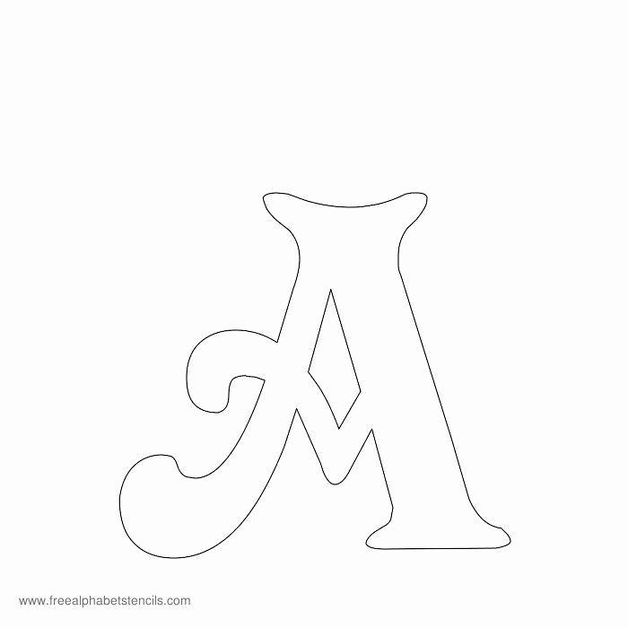 Free Printable Alphabet Stencils Templates Luxury Free Printable Stencils for Alphabet Letters Numbers