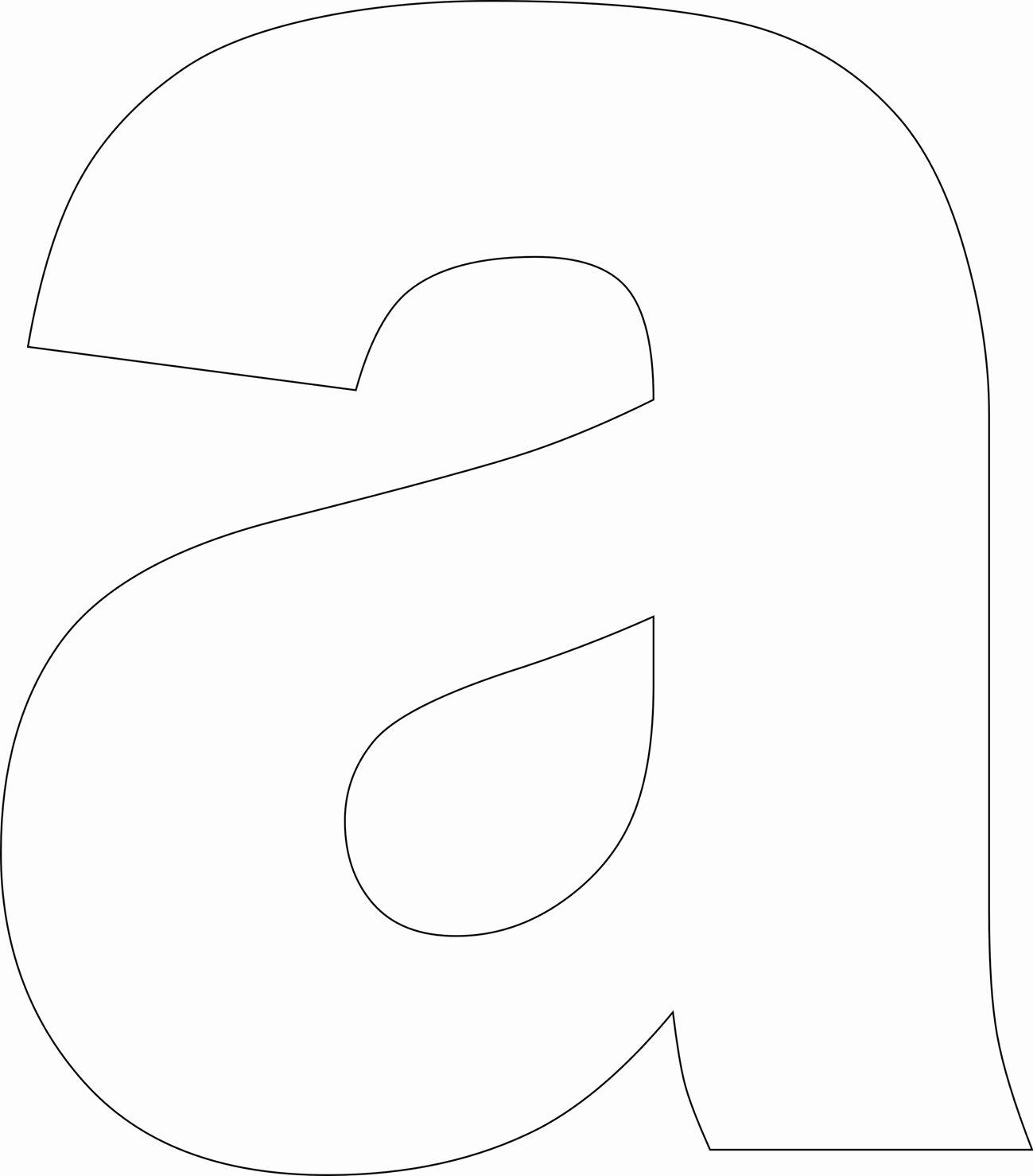 Free Printable Alphabet Templates Awesome Free Printable Lower Case Alphabet Letter Template