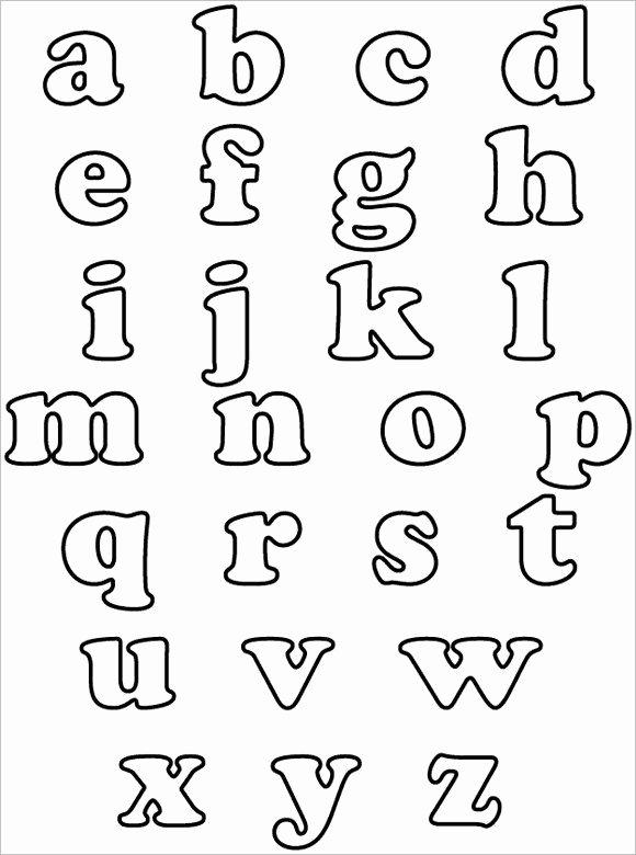 Free Printable Alphabet Templates Beautiful 30 Alphabet Bubble Letters Free Alphabet Templates