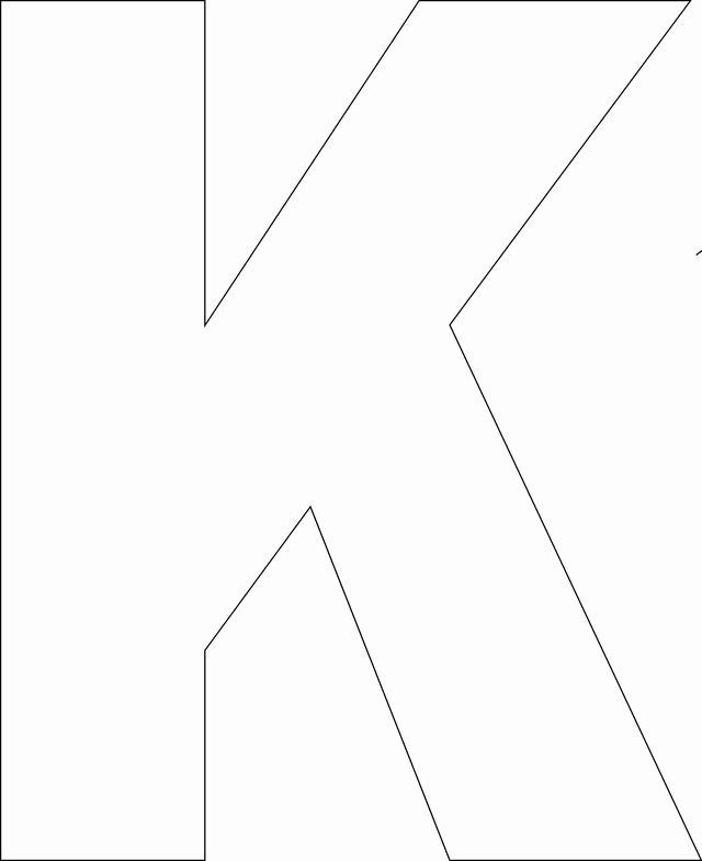 Free Printable Alphabet Templates Best Of Free Printable Upper Case Alphabet Template