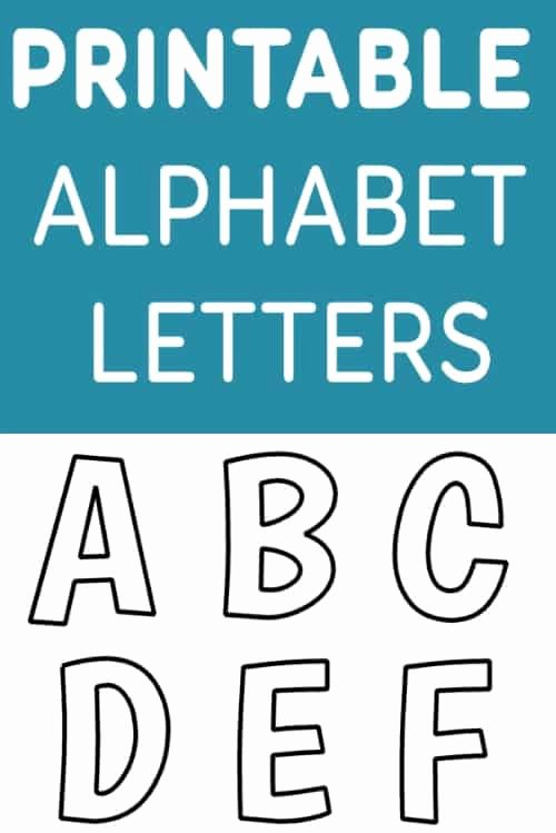Free Printable Alphabet Templates Best Of Printable Free Alphabet Templates