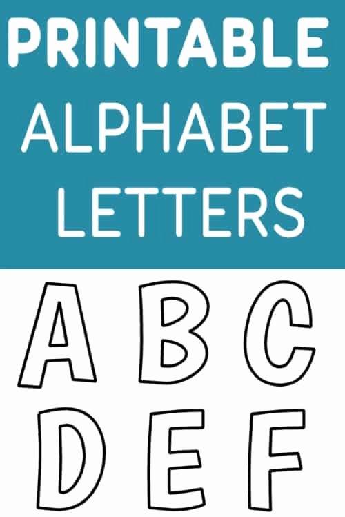 Free Printable Alphabet Templates Best Of Printable Free Alphabet Templates