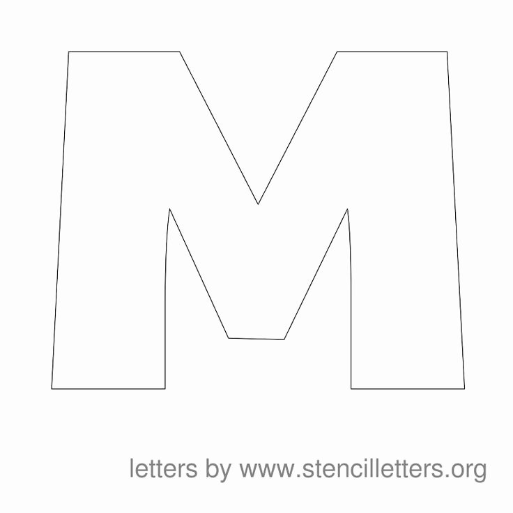 Free Printable Alphabet Templates Best Of Stencil Letters to Print Free Printable Alphabet Letter