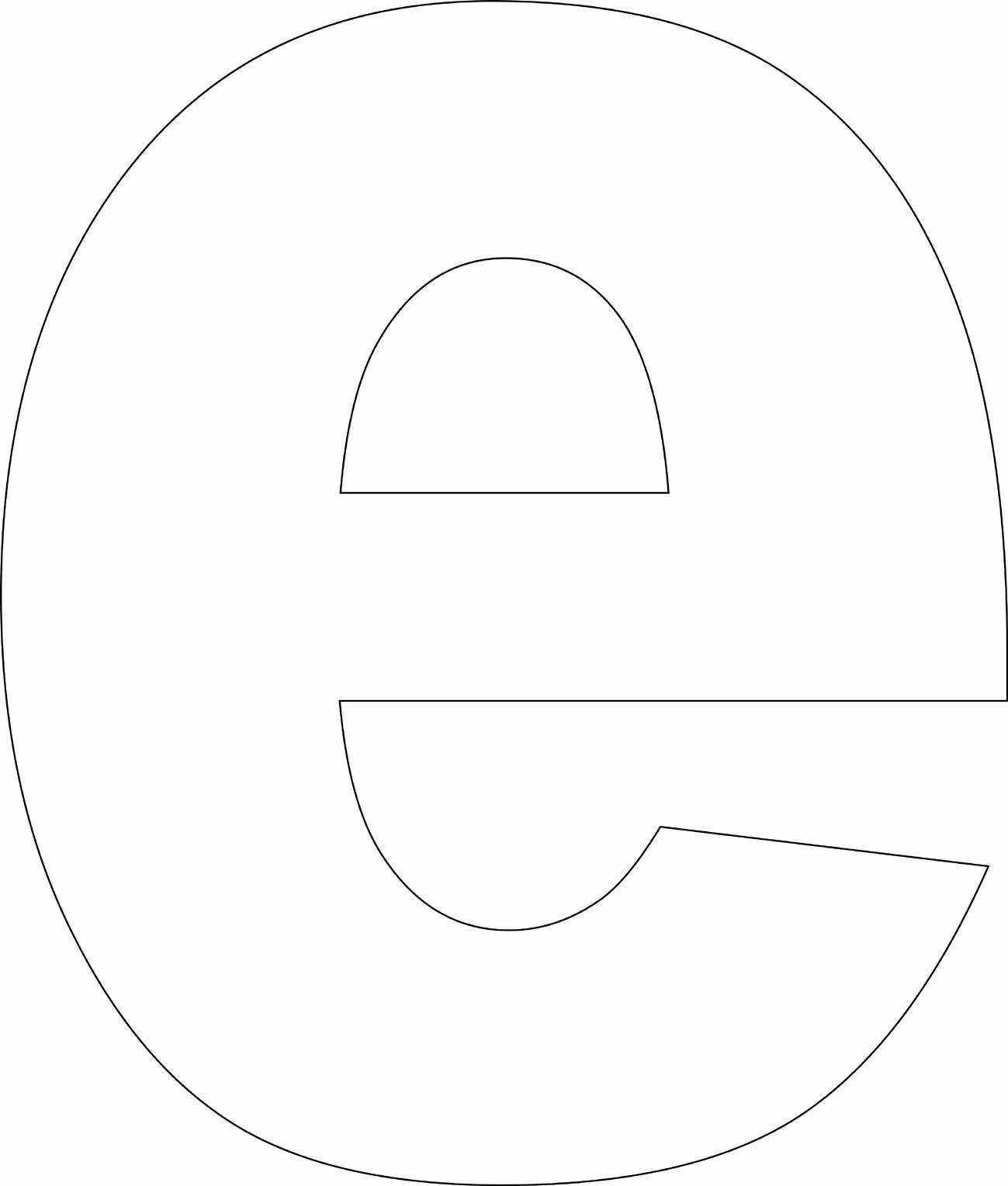 Free Printable Alphabet Templates Elegant Free Printable Lower Case Alphabet Template