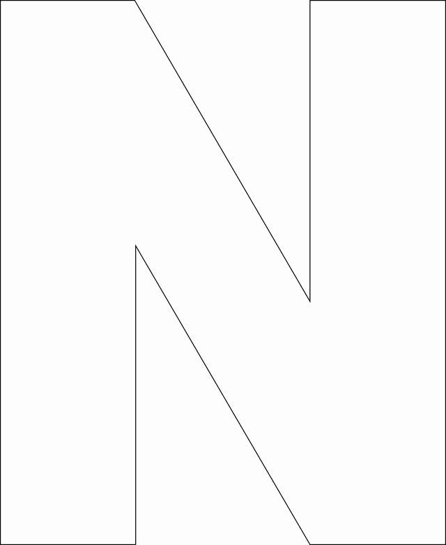 Free Printable Alphabet Templates Lovely Free Printable Upper Case Alphabet Template