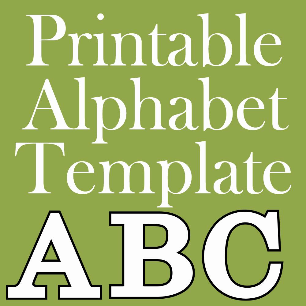 Free Printable Alphabet Templates Luxury Free Printable Letters Make Breaks