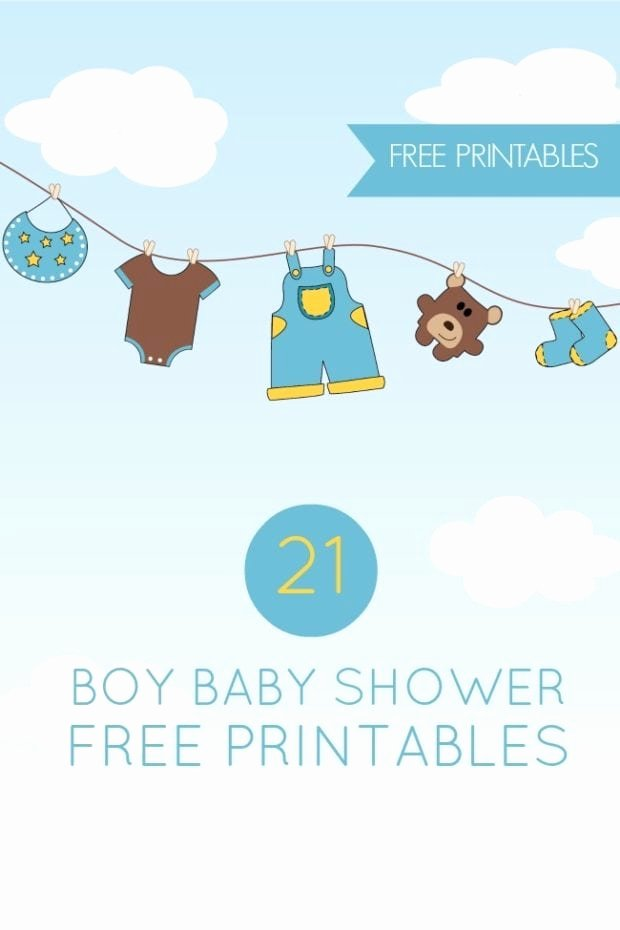 Free Printable Baby Shower Card Awesome 21 Free Boy Baby Shower Printables