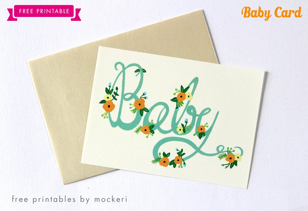 Free Printable Baby Shower Card Inspirational Baby Shower Congrats Card