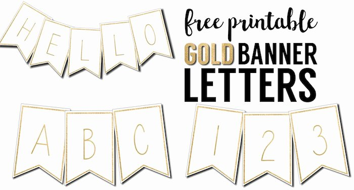 Free Printable Banner Letters Best Of Free Printable Banner Letters Templates Paper Trail Design