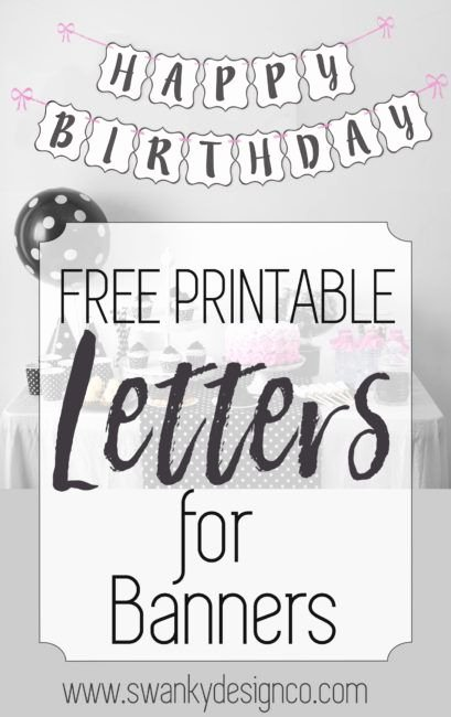 Free Printable Banner Letters Best Of Free Printable Black and White Banner Letters