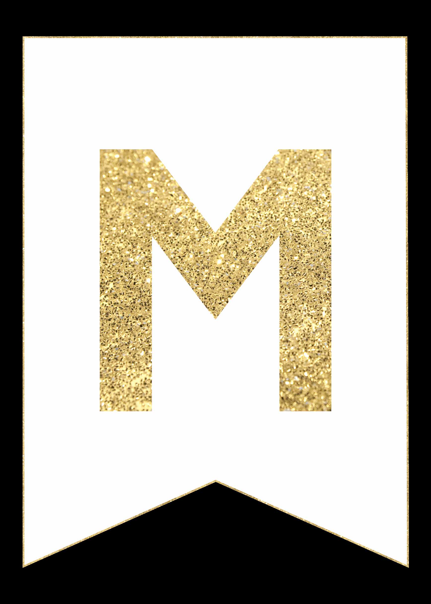 Free Printable Banner Letters Unique Gold Free Printable Banner Letters Paper Trail Design