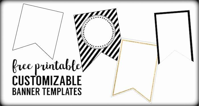 Free Printable Banner Templates Elegant Free Printable Banner Templates Blank Banners Paper