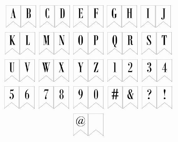 Free Printable Banner Templates Luxury Free Printable Banner Letters Lettering