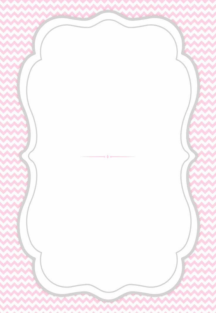 Free Printable Birthday Invitation Templates New French Curve Frame Free Printable Party Invitation