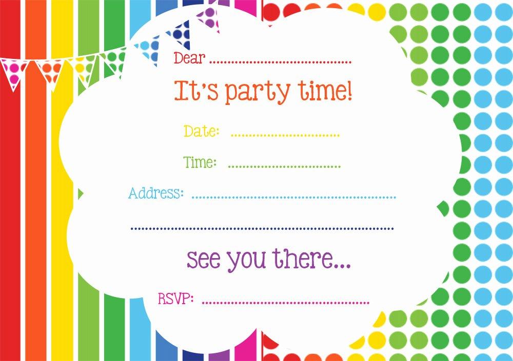 Free Printable Birthday Invitation Templates Unique Free Printable Birthday Invitations Line – Free