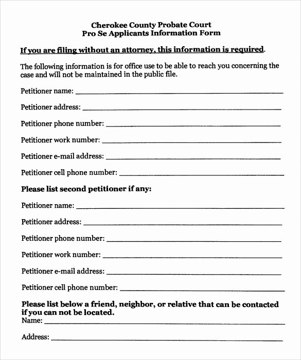 Free Printable Child Guardianship forms Beautiful Sample Temporary Guardianship form 8 Download Documents