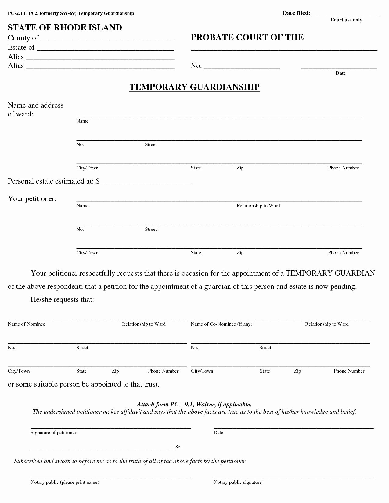 Free Printable Child Guardianship forms Unique Printable Custody Agreement forms Quick Best S