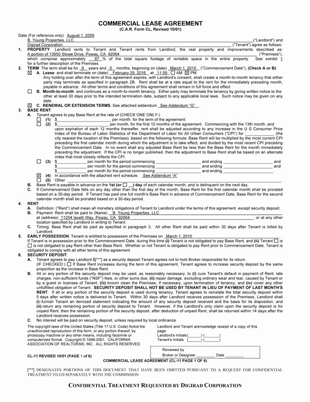 Free Printable Commercial Lease Agreement Beautiful Mercial Lease Agreement Free Printable Documents
