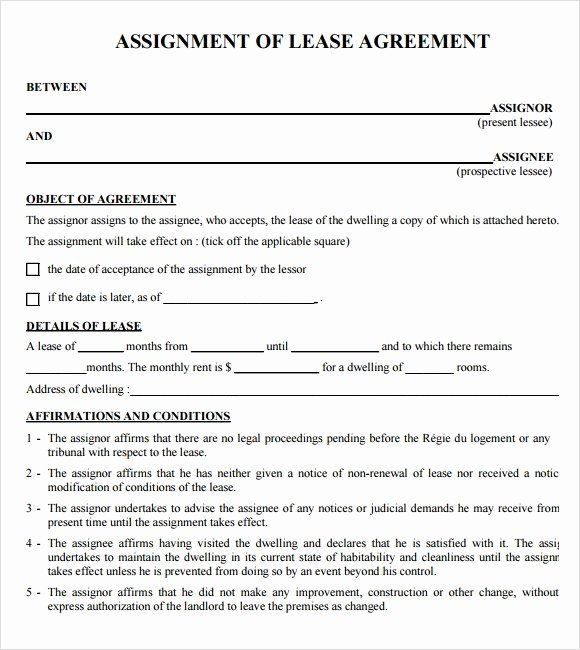 Free Printable Commercial Lease Agreement Inspirational Sample Lease Agreements 8 Documents In Pdf Word
