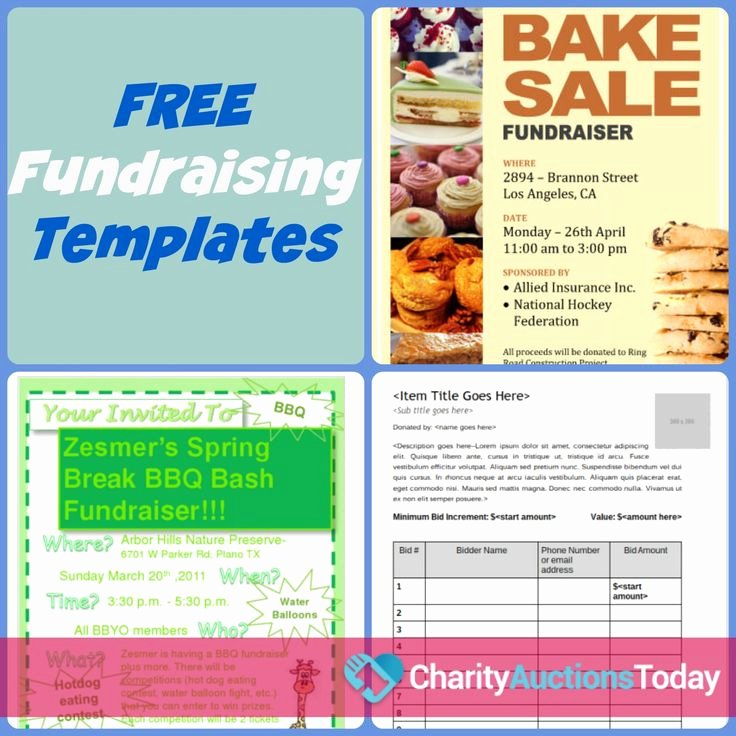 Free Printable event Flyer Templates Inspirational Free Fundraiser Flyer