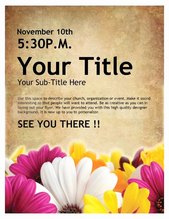 Free Printable event Flyer Templates Lovely Free 35 Best event Flyer Templates In Illustrator