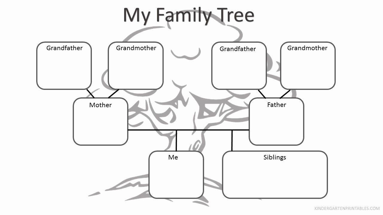 Free Printable Family Tree Awesome Free Printable Family Tree Worksheet Free Family Tree