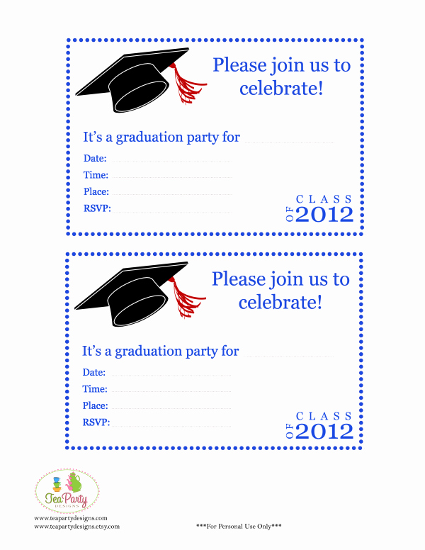 Free Printable Graduation Invitations Awesome Free Print Graduation Announcements Template Invitation