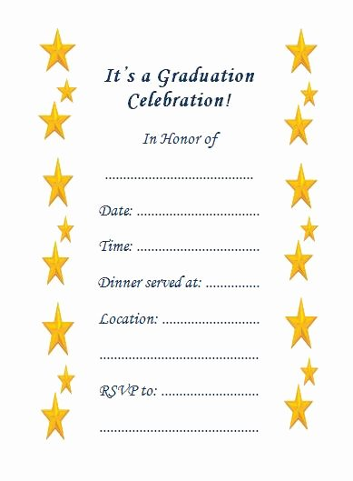 Free Printable Graduation Invitations Beautiful 10 Fabulous Printable Graduation Invitations