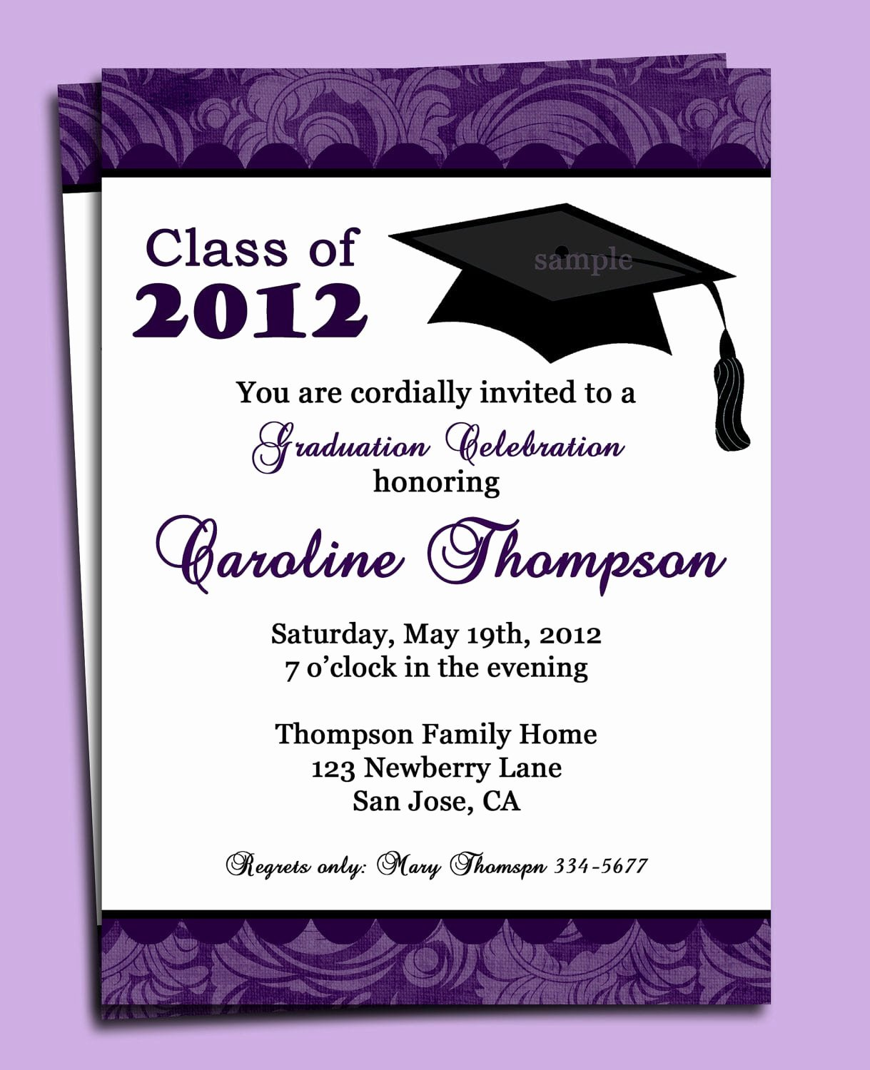 Free Printable Graduation Invitations Best Of Sample Invitation for Graduation Party