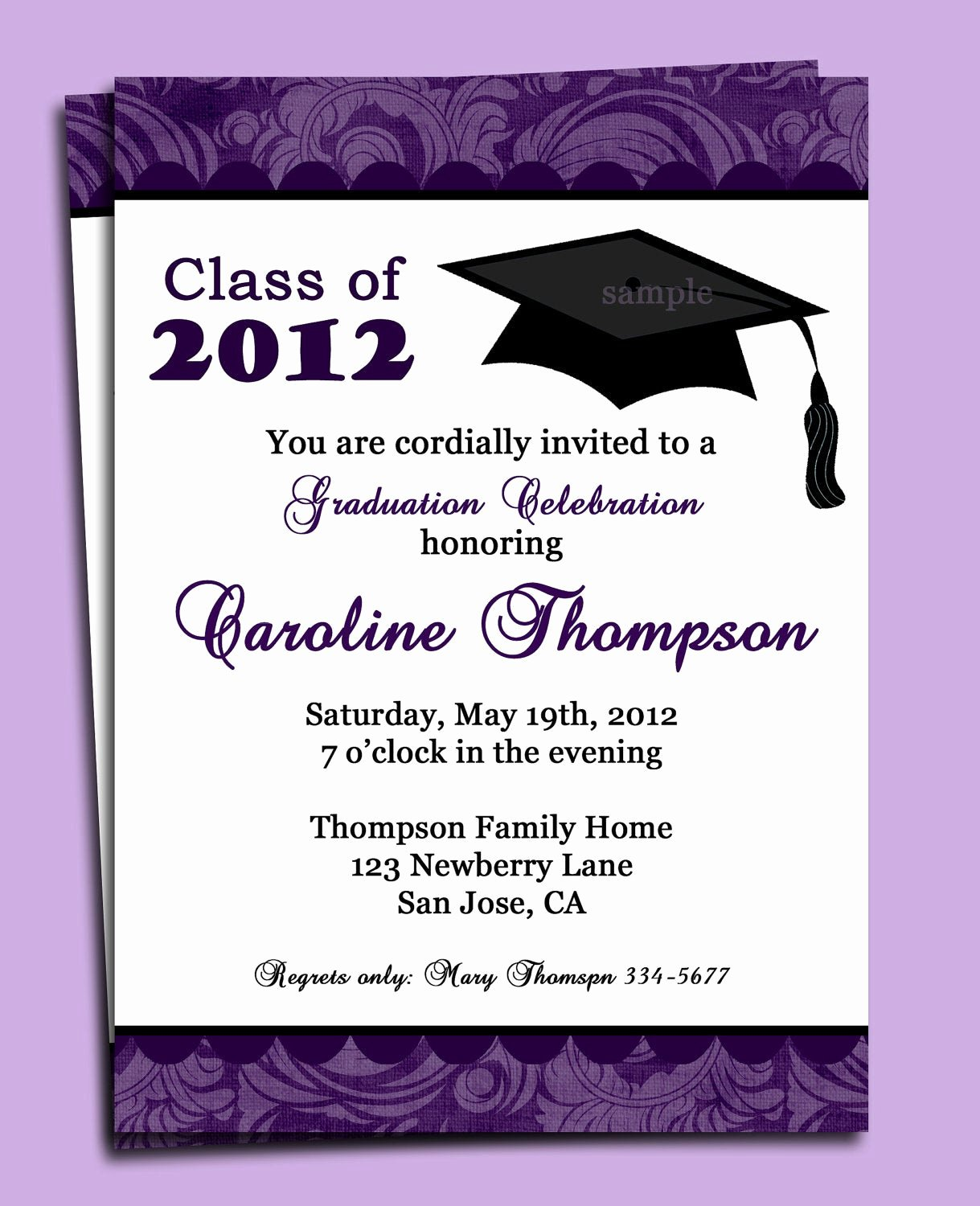 Free Printable Graduation Invitations Fresh Graduation Party or Announcement Invitation Printable or
