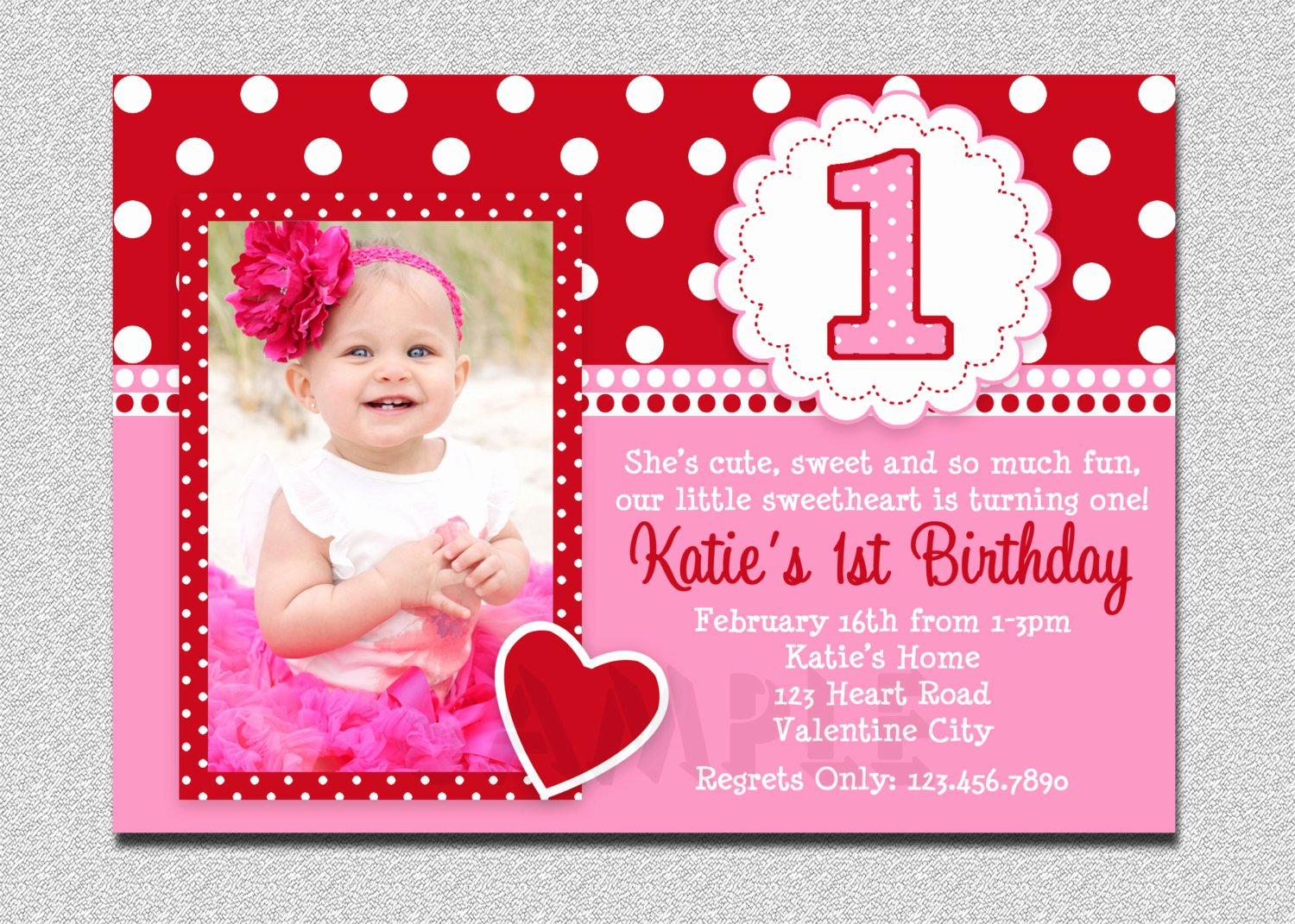 Free Printable Invitations Templates Best Of Free Printable 1st Birthday Invitations Girl – Free