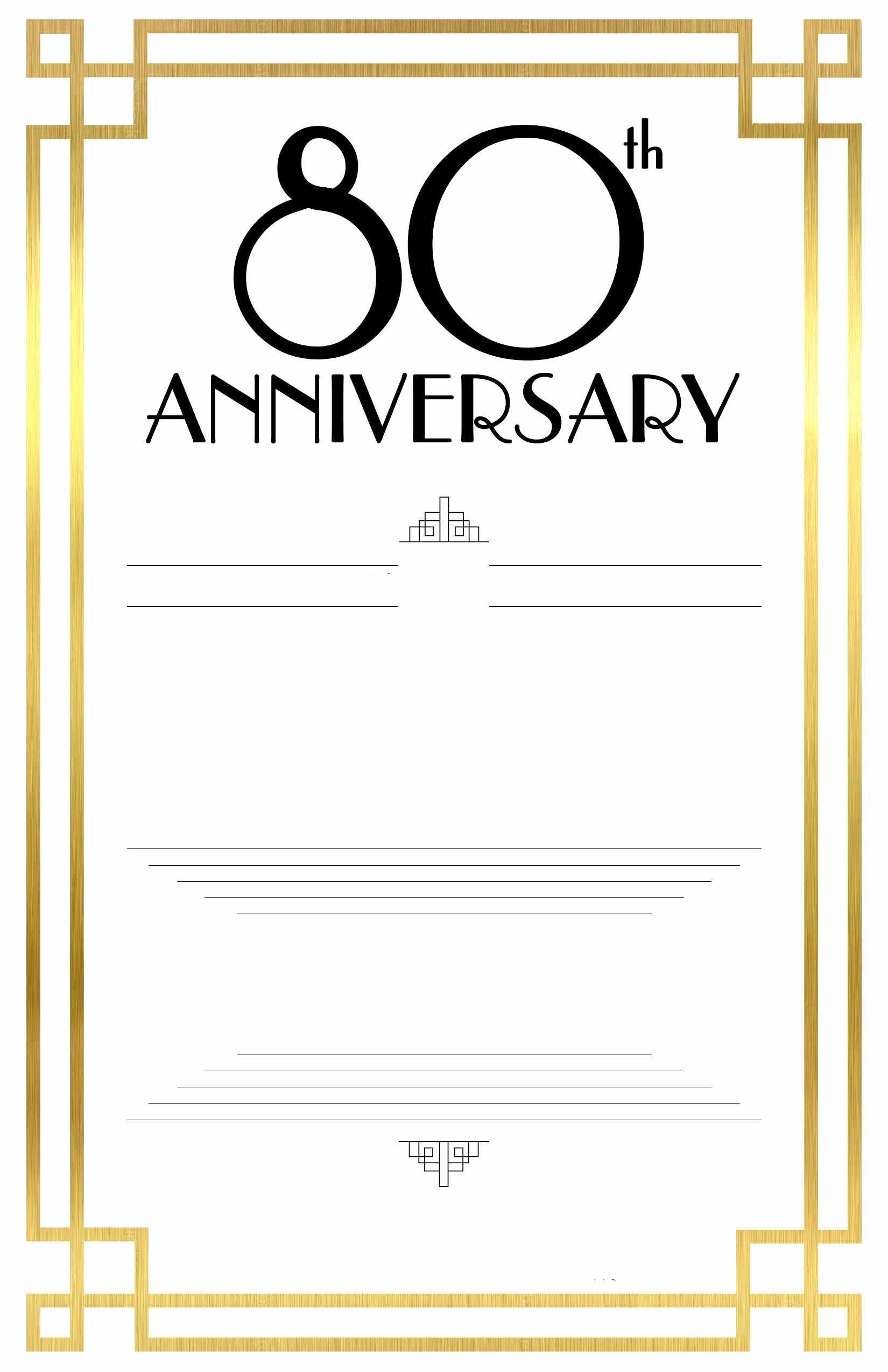 Free Printable Invitations Templates Elegant Free Printable 80th Birthday Invitations – Bagvania Free