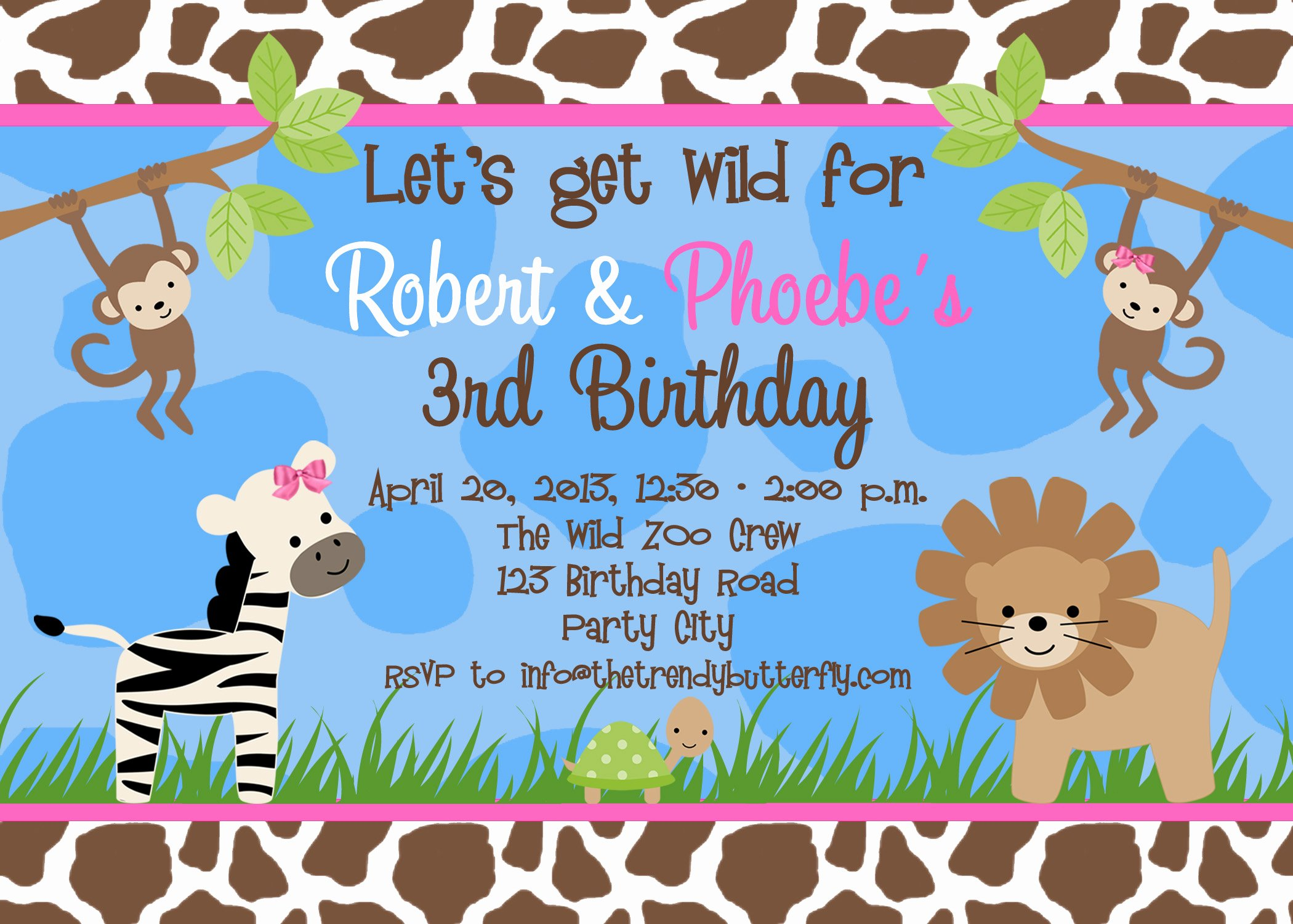 Free Printable Invitations Templates Fresh Free Birthday Party Invitation Templates