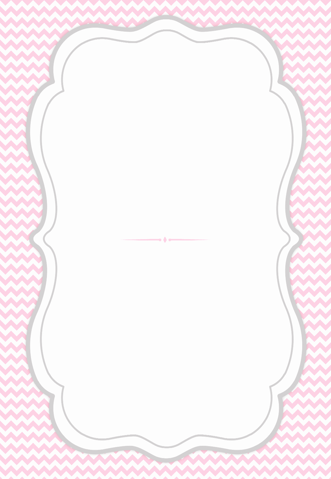 Free Printable Invitations Templates Fresh French Curve Frame Free Printable Party Invitation