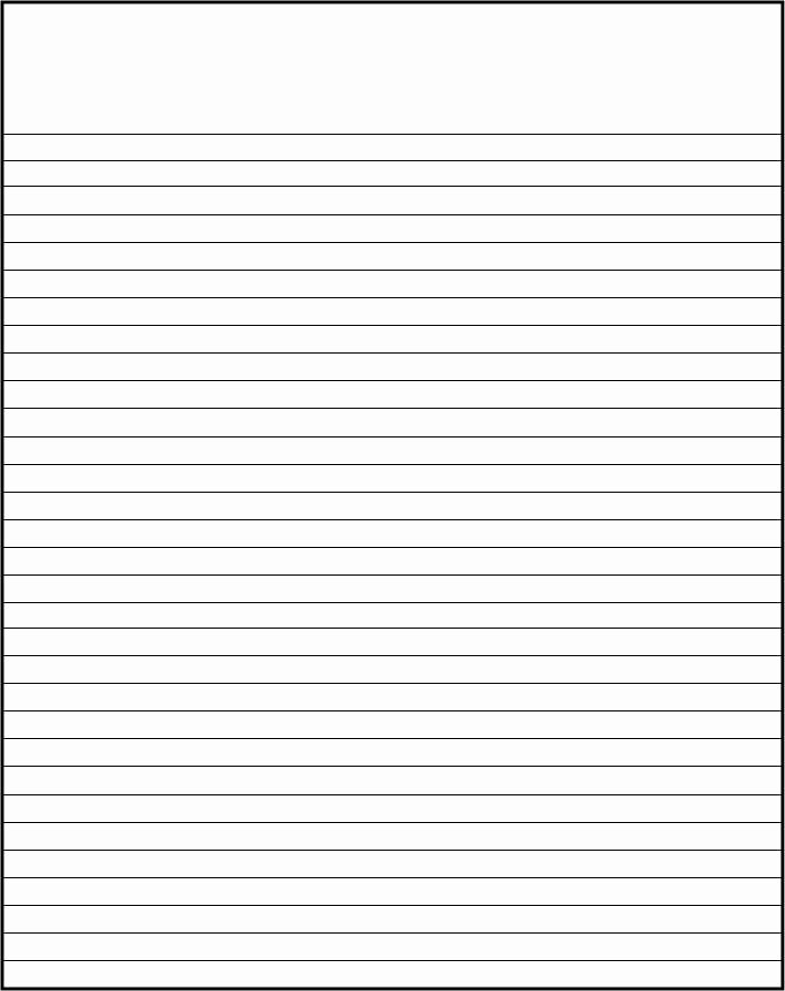 Free Printable Lined Paper Fresh Free Lined Writing Paper Template Kevbe
