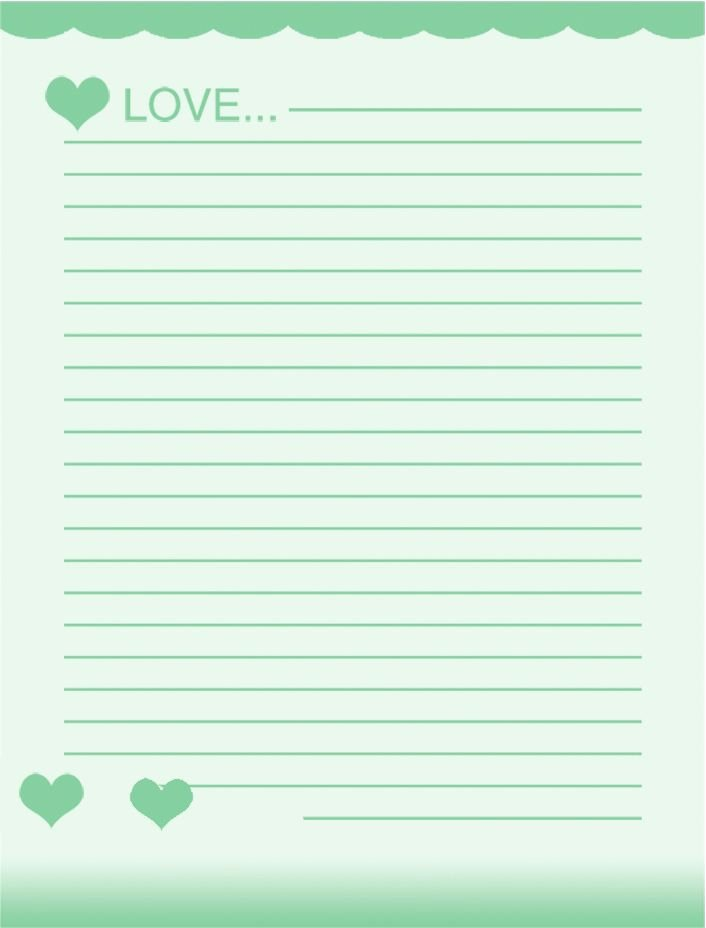 Free Printable Lined Paper Inspirational Lined Stationery Paper Printable Free Download Aashe