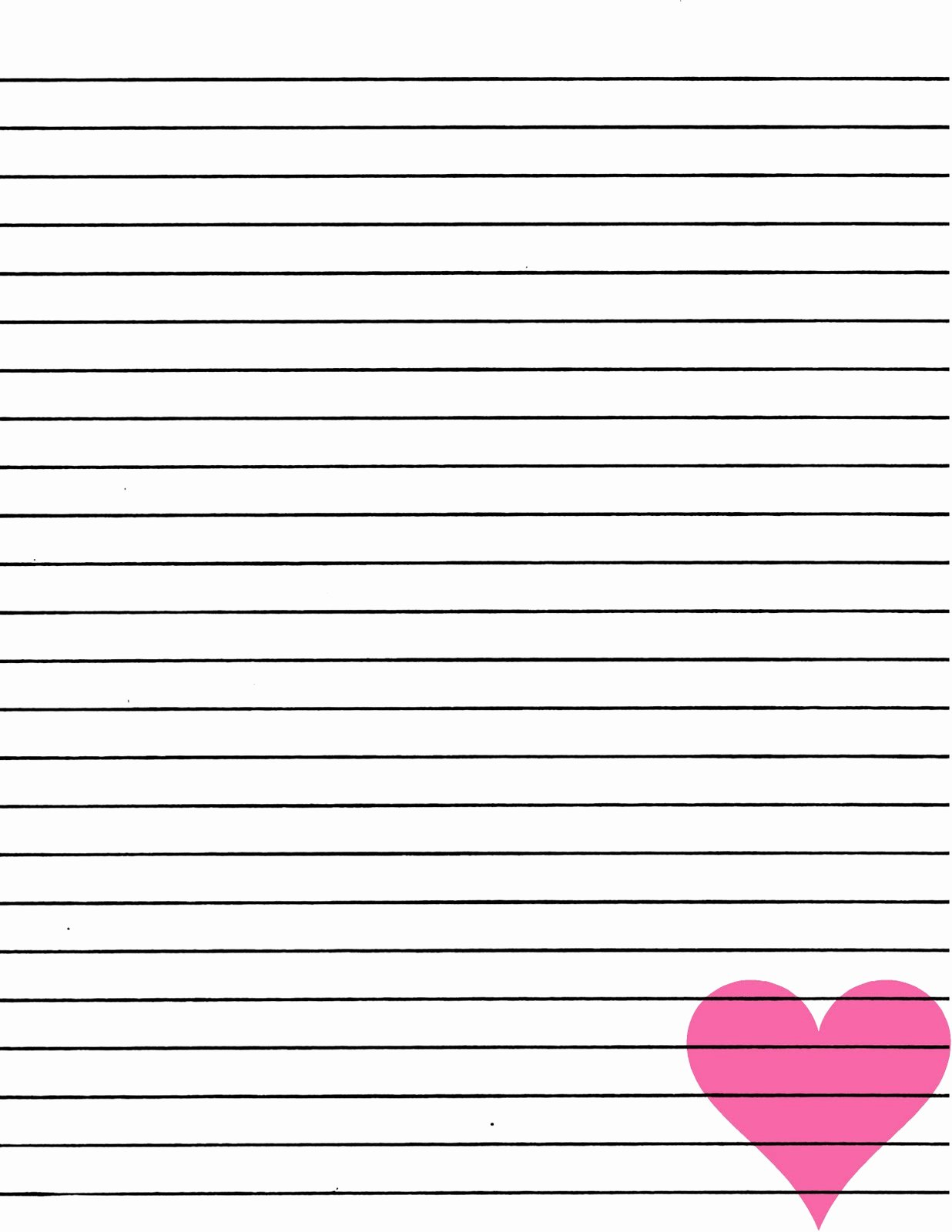 Free Printable Lined Paper Unique Just Smashing Paper Freebie Pink Heart Lined Paper