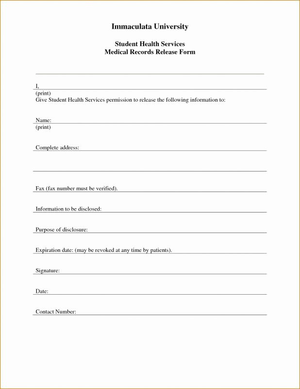 Free Printable Medical forms Luxury Free Printable Child Medical Consent form