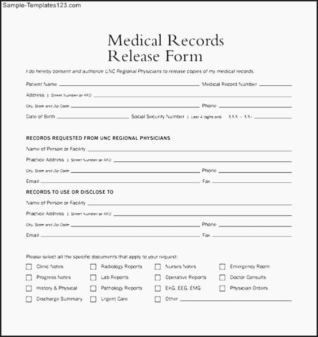 Free Printable Medical Release form Lovely 42 Dramatic Free Printable Medical Release form