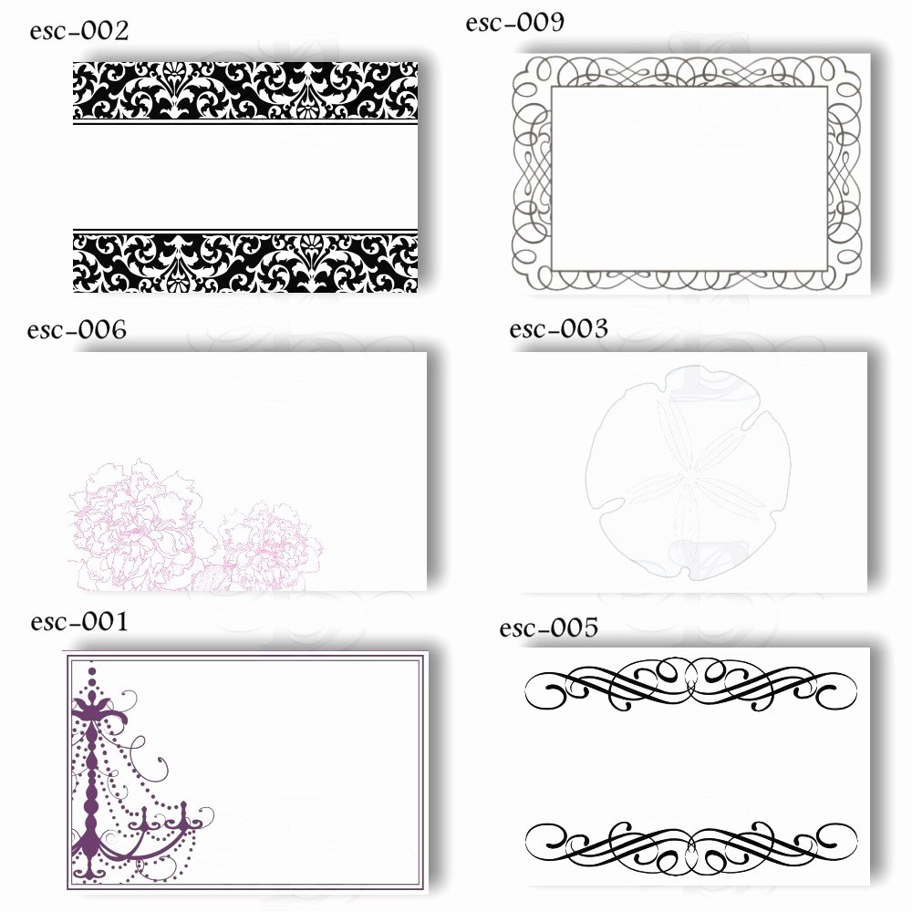Free Printable Place Cards Awesome 19 Elegant & Fun Printable Place Cards