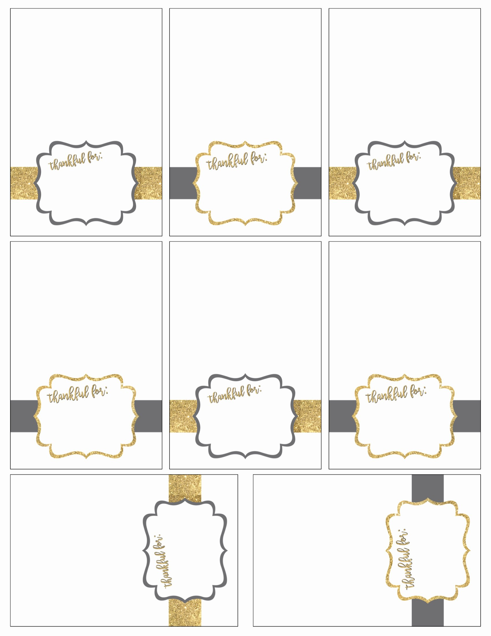 Free Printable Place Cards Awesome Free Printable Thanksgiving Place Cards Paper Trail Design