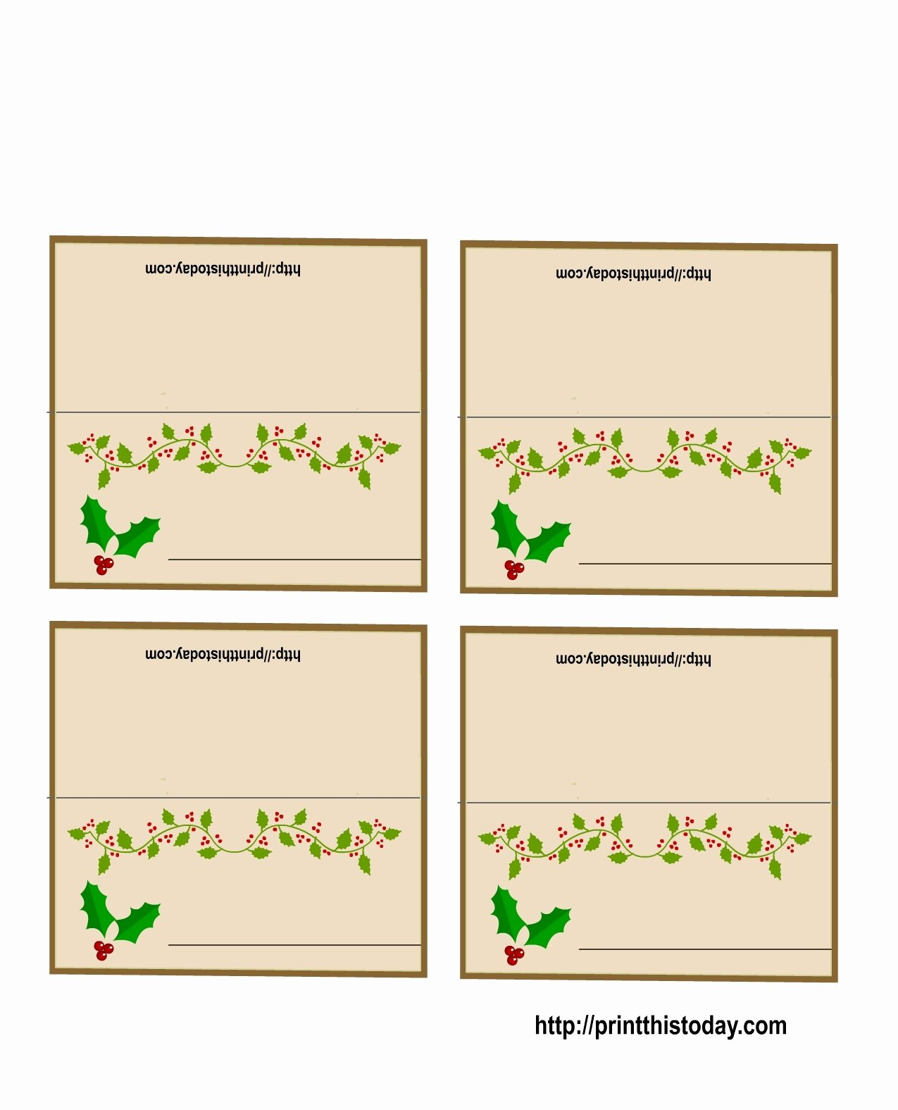 Free Printable Place Cards Fresh 19 Elegant & Fun Printable Place Cards