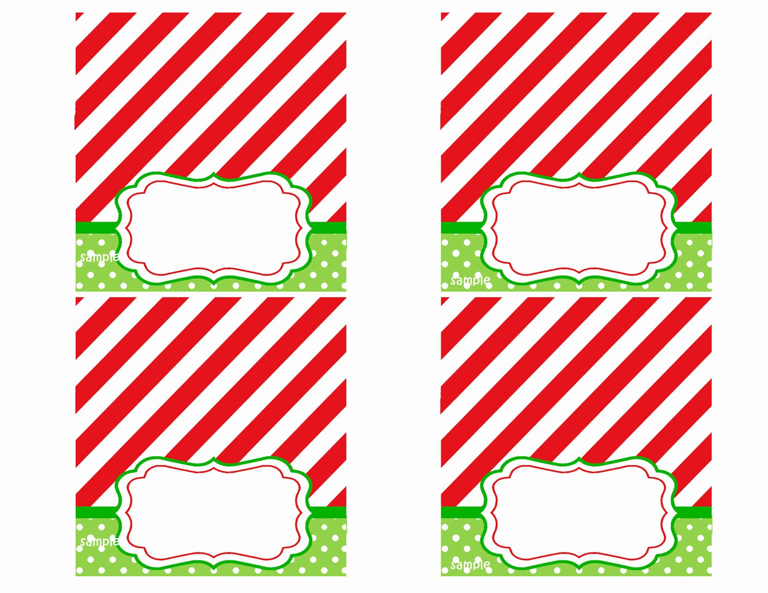 Free Printable Place Cards Fresh Christmas Party Tent Style Place Cards Printable Magic Of