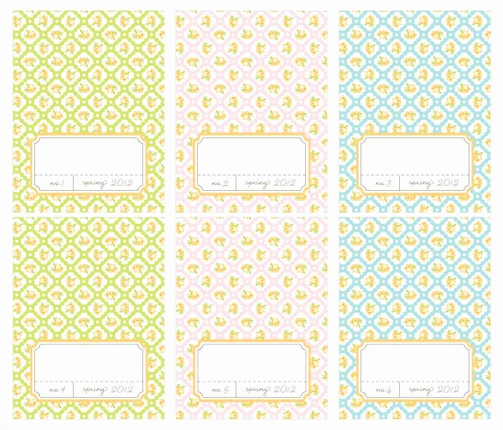 Free Printable Place Cards Luxury Free Printable Spring Place Cards
